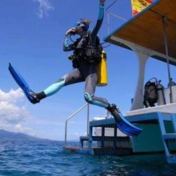 Batismo de Mergulho em alto mar - IM064