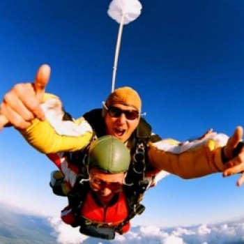 Salto Duplo de Paraquedas em Resende - im1128