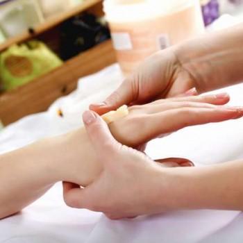 cuidados de seda para pés ou mãos - IM054