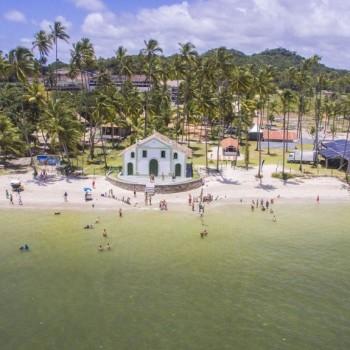 Praia dos Carneiros com catamarã - im1789